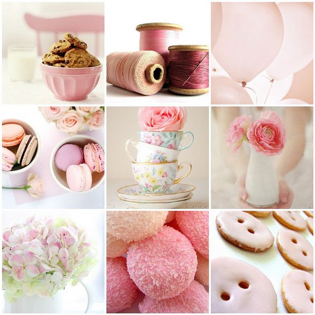 collage rosa para una wedding planner