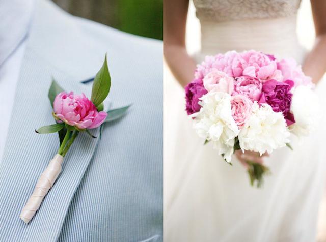 Flores para bodas, peonias rosas, ramos de novia peonias, wedding planner Madrid