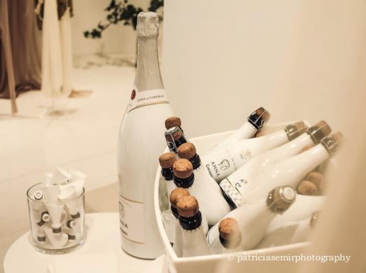 coctel Cortana Madrid, diseño novias, sencillos pero muy elegantes