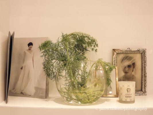 cóctel Cortana Madrid, trajes de novia: sencillos pero muy elegantes