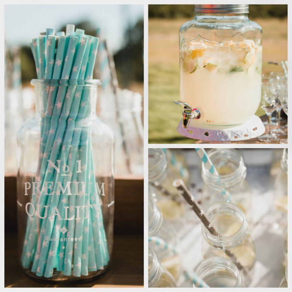 boda, bodas civiles, bodas al aire libre, mesa de limonada boda