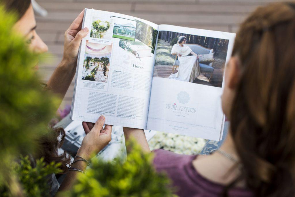 Tu Día Perfecto Wedding Planner Madrid Spain, organización de bodas exclusivas y llenas de encanto. Decoración bodas, branding bodas. Telva Novias