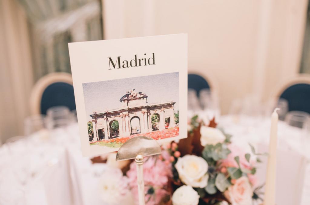 Boda urbana y elegante en el hotel Ritz de Madrid by Tu Día Perfecto Wedding Planner. Seating plan
