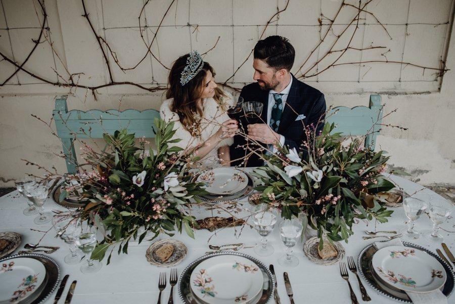 BODA EN LA NIEVE, Boda de invierno, decoración de bodas, ceremonia civil en el campo,boda en Segovia, Destination Wedding Spain, bodas Tu Día Perfecto