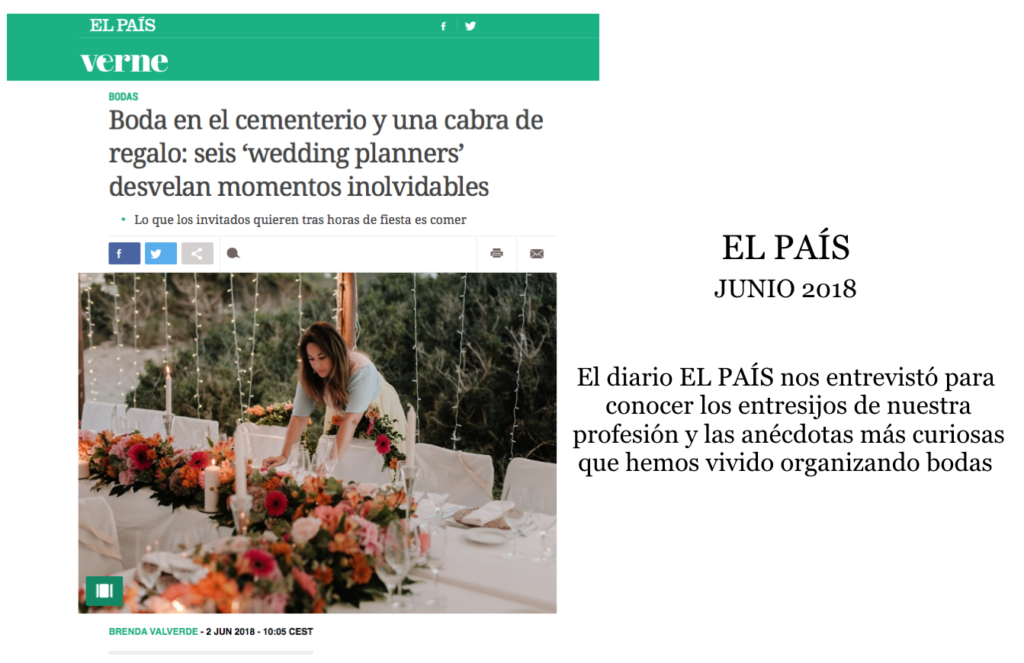 Tu Dia Perfecto Wedding Planner Madrid