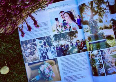 Detalles boda en revista