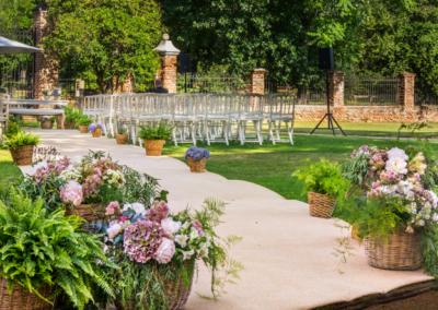 Silla boda ceremonia